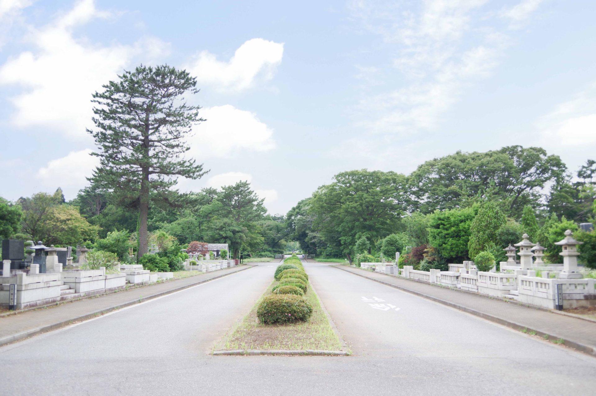 八柱霊園<br>(千葉県松戸市)