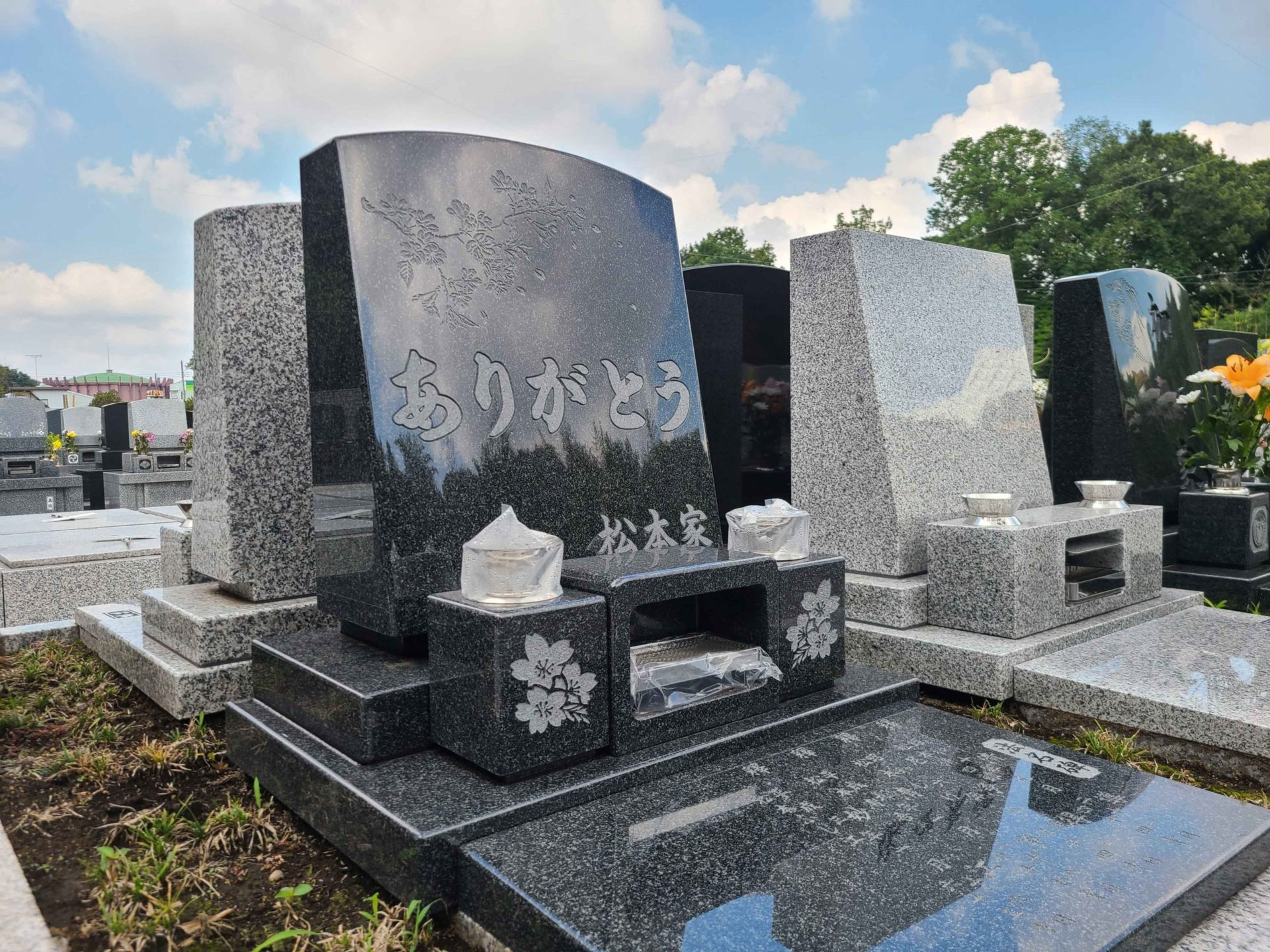 メモリアルガーデン梅郷聖地<br>松本家墓石工事