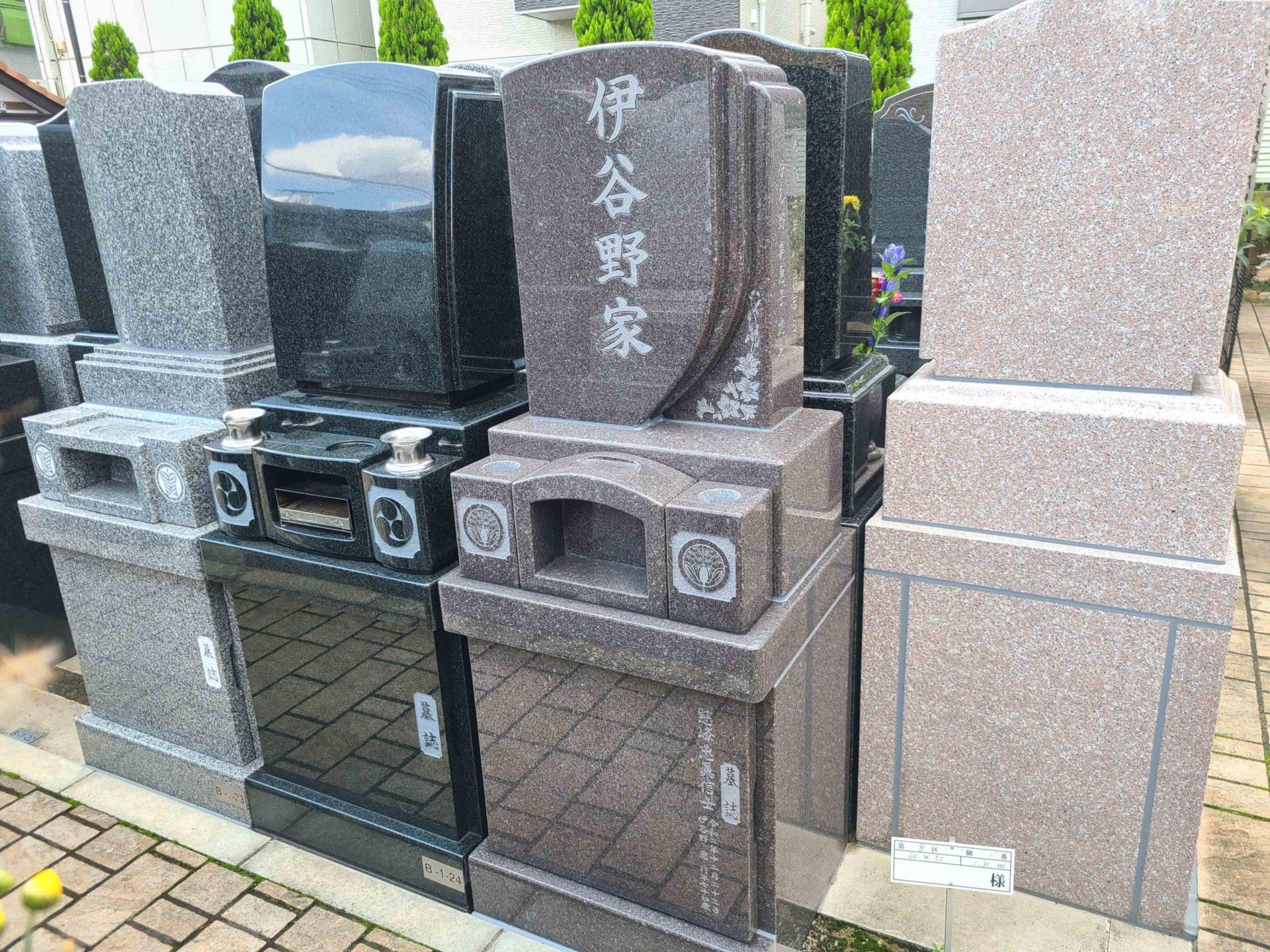 ハートフルガーデン葛飾鎌倉<br>伊谷野家墓石工事