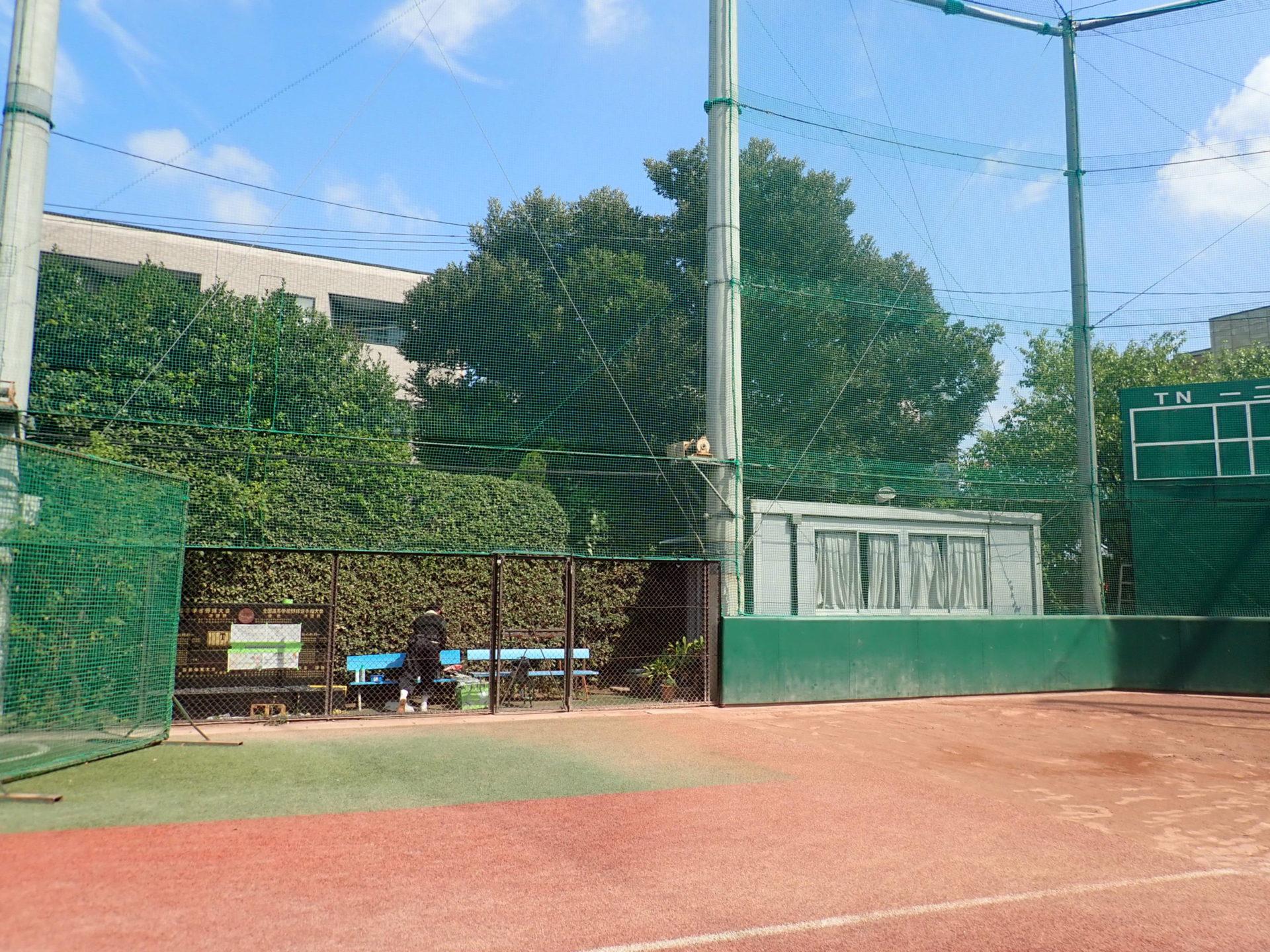 帝京高校野球部 記念碑