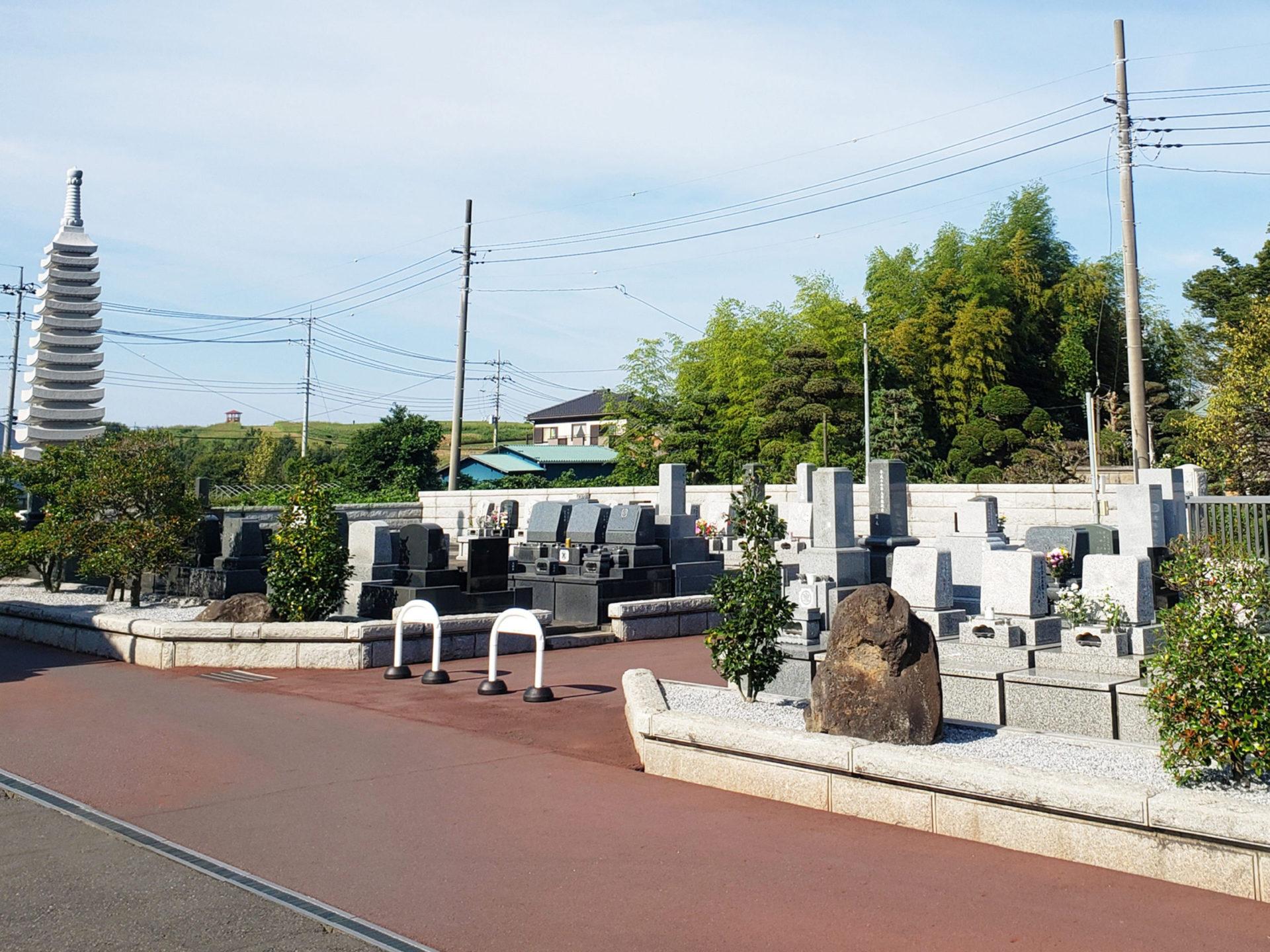 光輪霊園<br>(埼玉県北葛飾郡松伏町)