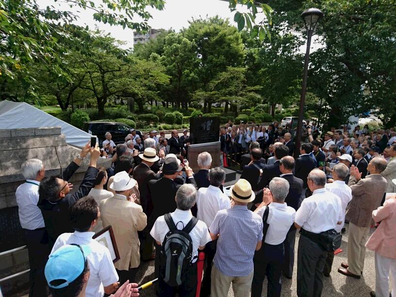 墨田川堤防<br>ボート記念碑