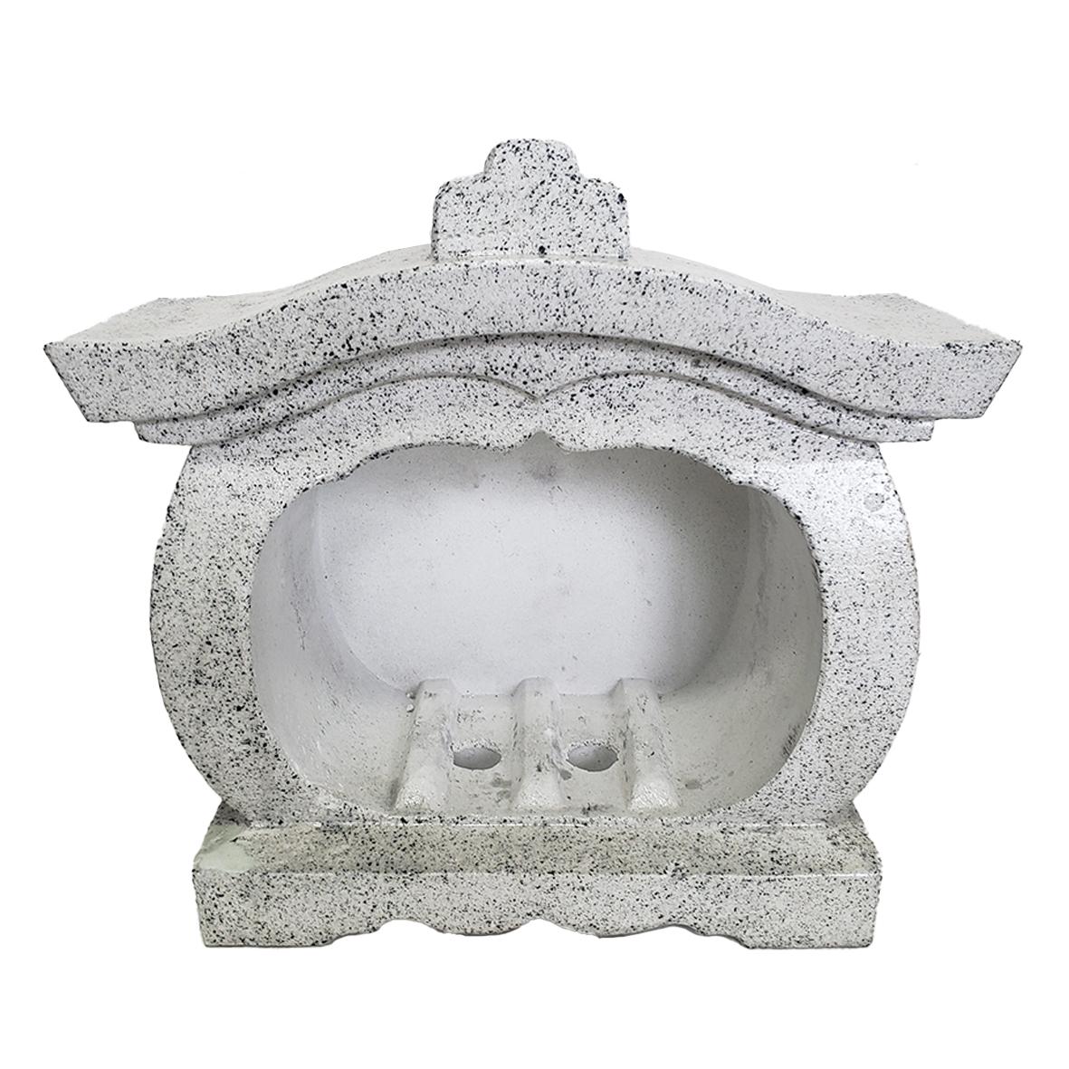 宮型香炉(磨きコンクリート)