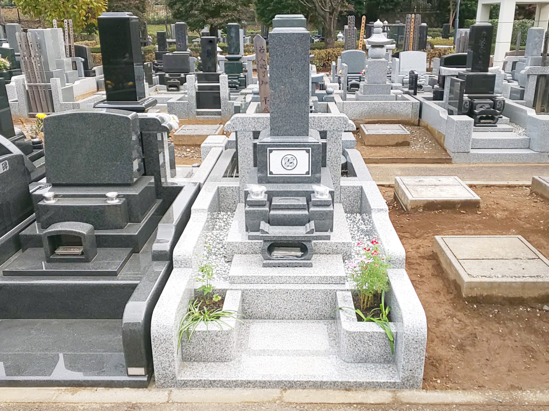 さいたま市営青山苑<br>墓石工事